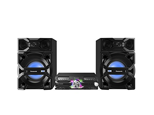 Panasonic SC-MAX3500 Minicadena de música para uso doméstico 2000W Negro - Microcadena (Minicadena de música para uso doméstico, Negro, Monótono, 2000 W, De 3 vías, FM)