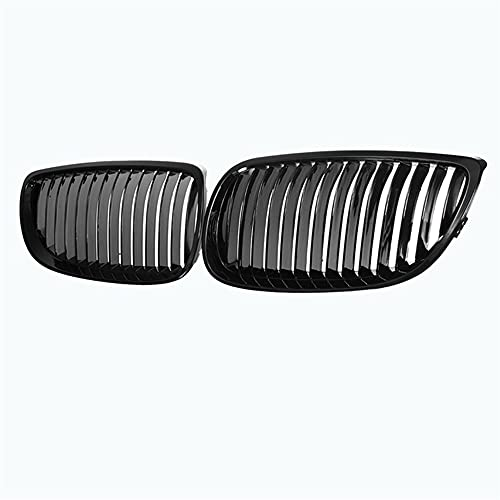 ZQCJDM Grill Ridney, Al21 -Gloss Black Hood Grille para E92 E93 328i 328xi 335i 3-Series M3 2007-2010