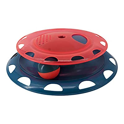 Petstages Catnip Chase Track - Interactive Cat Play Toy