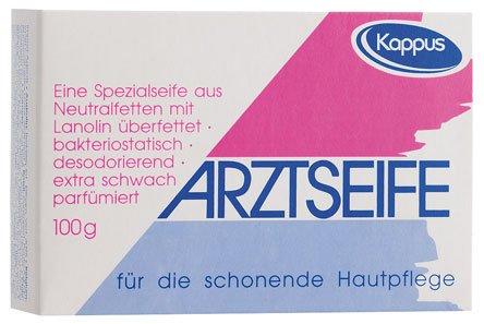 Kappus Arztseife für strapazierte und empfindliche Haut - 100g - 6x