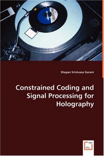Srinivasa Garani, S: Constrained Coding...