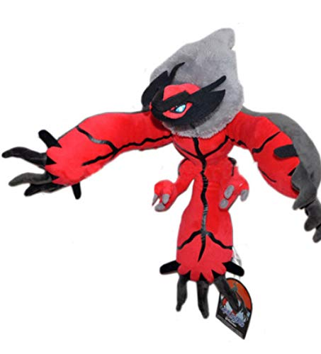 nanyin Anime Pokemon Figures Monster Model Animales De Peluche Blandos Yveltal Plush Toy 50Cm, Navidad Birtaday Gift Baby Toys For Boys