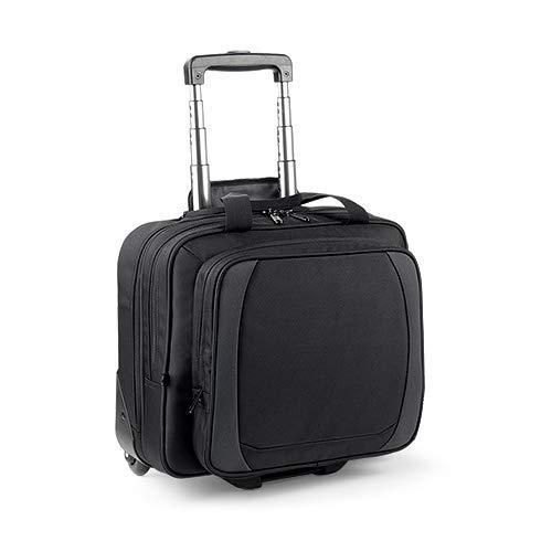 Quadra - Valise cabine trolley poche spéciale laptop MoBILE