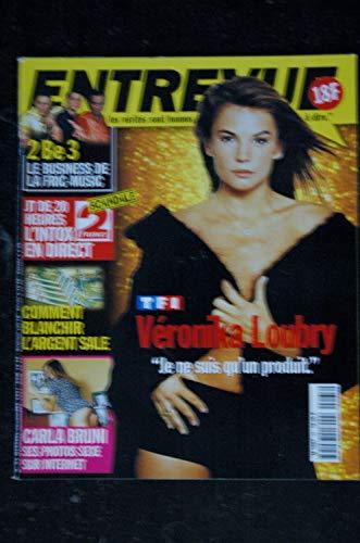 ENTREVUE 65 1997 Décembre VERONICA LOUBRY CARLA BRUNI BJORK Cameron DIAZ