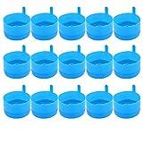 BESPORTBLE 25 tapas para jarra de agua de 5 galones de repuesto para botellas de agua sin derrames, para dispensador de agua, oficinas en casa
