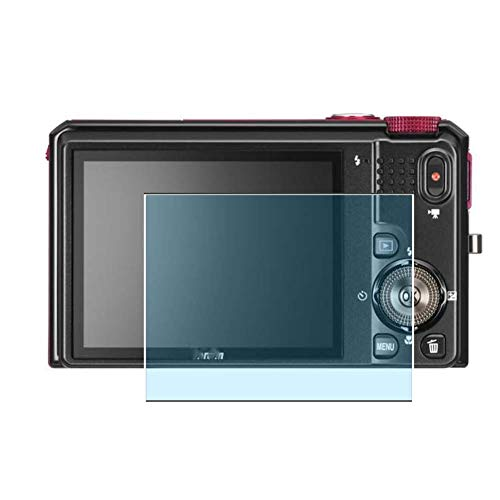 Vaxson 3 Stück Anti Blaulicht Schutzfolie, kompatibel mit Nikon Coolpix S9100, Displayschutzfolie Anti Blue Light [nicht Panzerglas]