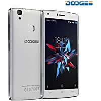 """Doogee Mobile X5 Max Pro SIM doble 4G 16GB Color blanco - Smartphone (12,7 cm (5""""), 16 GB, 8 MP, Android, Android 6.0, Color blanco)"""