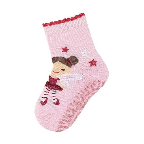 Sterntaler Baby - Mädchen Socken Glitzer-flitzer Air Fee,  Pink (Rosa 702), 17-18