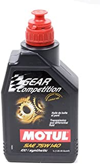Motul MTL105779 75w140 Gear Competition Oil, 33.81 Fluid_Ounces