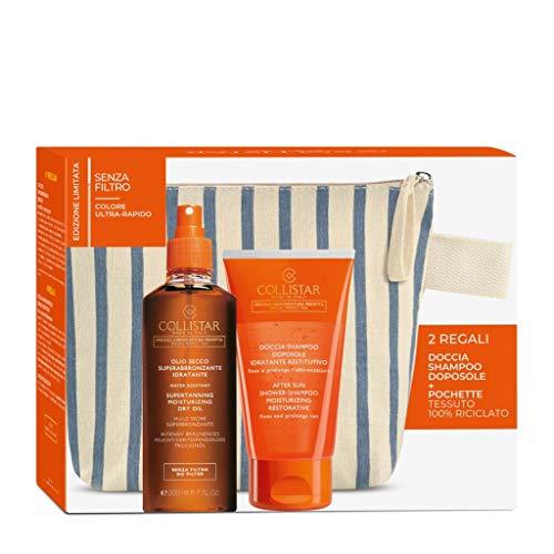 moisturizing dry oil 200 ml + after sun shower shampoo 150ml