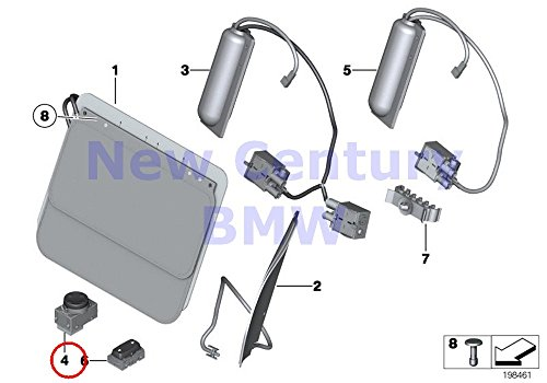 2 X BMW Genuine Right Lumbar Support Switch 740i 740iL...