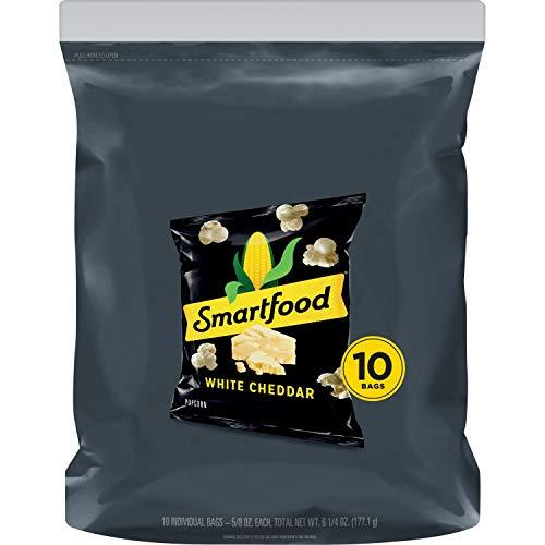 Smartfood Popcorn, White Cheddar, 0.625oz Bags (10 pack)