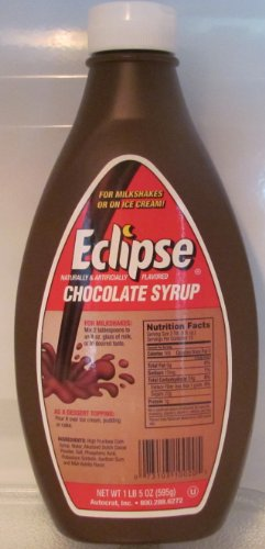 Eclipse Chocolate Syrup 21 Oz