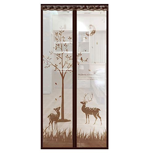 Fly Screens for Doors, Anti Mosquito Magnetic Soft Door, Mesh Curtain, Easy to Install, Keep Bugs Out, Let Fresh Air