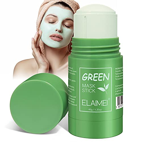 Maschera All'argilla Purificante al Tè Verde,...