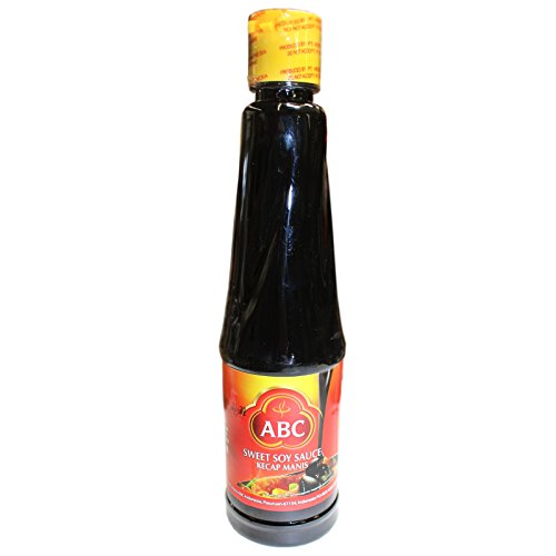 12x600ml ABC Indonesische Süsse dickflüssige Sojasauce Ketjap Manis