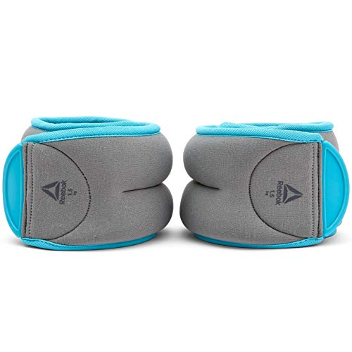 Reebok Women's Ankle Weights, Blue, 1 kg