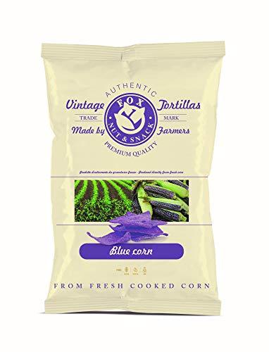 FOX Natural Quality Vintage Corn Tortilla Chips, Blue Corn - 40 g