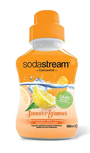 Sodastream Concentré Saveur Agrume 500ml