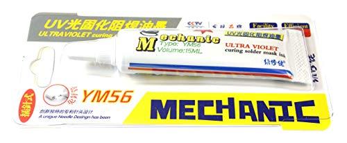 S4H Mechanic UV Solder Mask Lötstopplack PCB Lack YM56 Grün