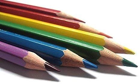 Standard Multicolour doms Soft Core Colour Pencil Set for Kids