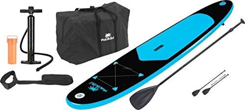 Waikiki - Tabla de remo hinchable con pala, bomba y bolsa de 9 pies