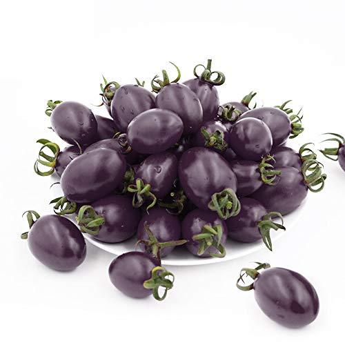 semi di pomodoro ciliegino gialli, rossi, neri, viola, semi di pomodoro puri sono usati per piantare 200 semi non geneticamente modificati in famiglie, ortaggi, giardini all'aperto e al chiuso.