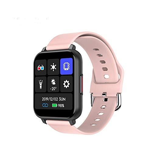 CGGA KUSDO 2020 Nuovo Smartwatch IP67 Impermeabile Intelligente della vigilanza degli Uomini delle Donne di Sport del Braccialetto di Fitness Health Monitor for Xiaomi di Apple Android