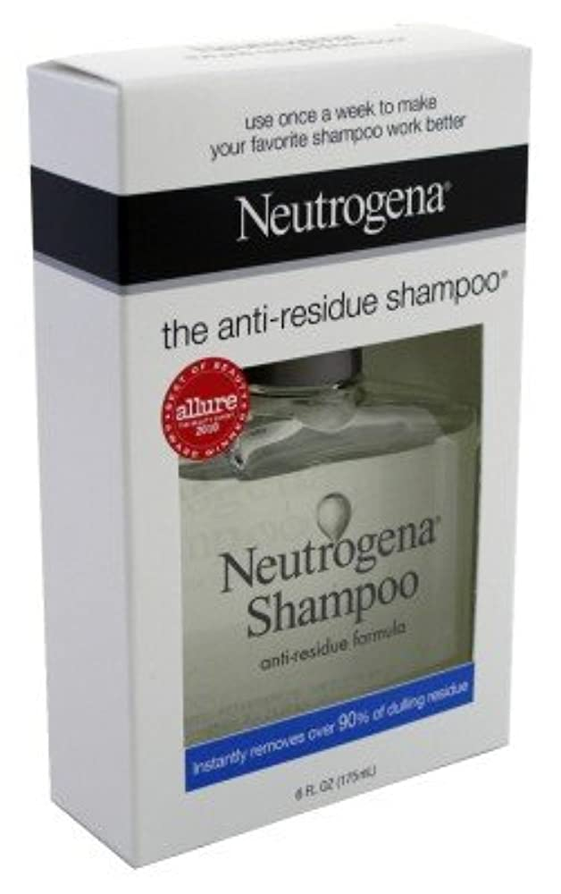 蛾表面的なシーン海外直送品Neutrogena Neutrogena Anti-Residue Shampoo, 6 oz (Pack of 6)