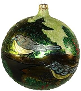 Larry Fraga - HOLLY BERRY BUSH - The Garden Bouquet Collection - Manufactured by Larry Fraga Designs - This prototype is hand-painted by Artist Larry Fraga