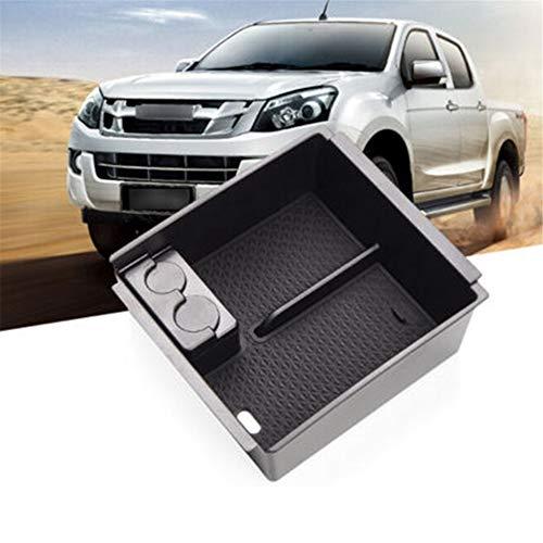 , Für das Auto-Styling Innere Sekundärlagerung Handschuhbehälter Auto-Mittelkonsole Armlehnenbox Aufbewahrung, für Isuzu D-MAX MU-X 2012-2019 DMAX MUX
