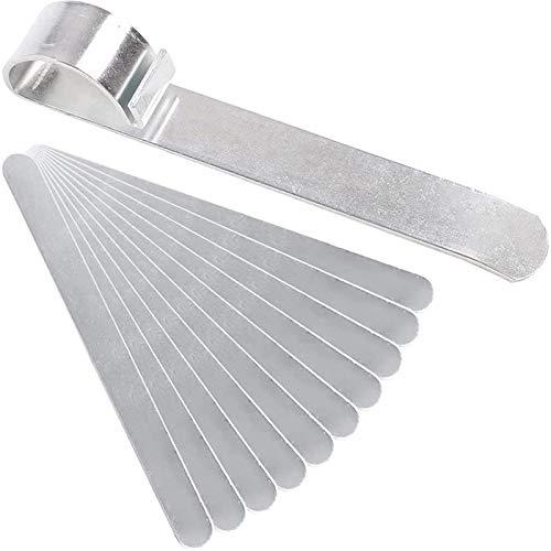 Betos Herramienta de fijación Pulsera de metal Plantilla para manualidades Joyería Fabricación de Plata Acero Inoxidable Doblado