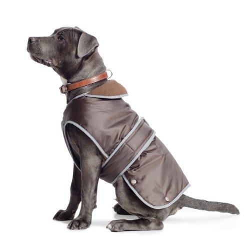 Ancol Muddy Paws Giacca e Protezione del torace per cani, Cioccolato, XL