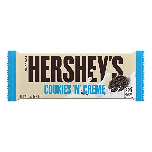Hershey Cookies 'N' Cream - Cookies und Creme Schokoriegel, 1 Stück (1 x 43g)