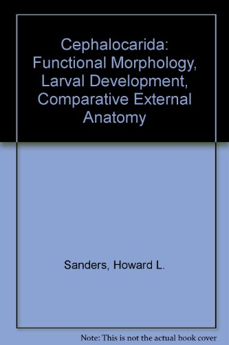 Cephalocarida: Functional Morphology, Larval Development, Comparative External Anatomy