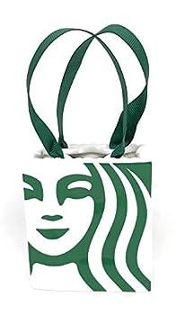 Starbucks 2019 Limited Ceramic Tote Holiday Christmas Tree Ornament