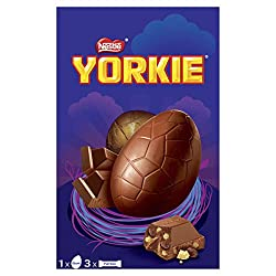 Yorkie Collection Giant Chocolate Easter Eggs, 336 g