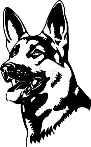 German Shepherd Dog Pet Owner Vinyl At the price Boston Mall of surprise Decal Sticker for Home Offic