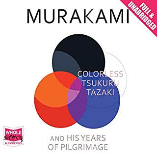 Colorless Tsukuru Tazaki and His Years of Pilgrimage cover art