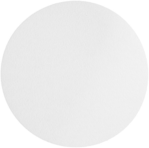 Whatman 1006-110 Quantitative Filter Paper Circles, 3 Micron, 35 s/100mL/sq inch Flow Rate, Grade 6, 110mm Diameter (Pack of 100)