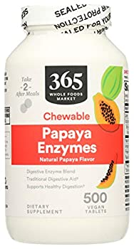 Best whole foods papaya enzyme Reviews