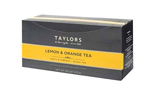 Taylors of Harrogate Lemon & Orange Black Tea, 100 Count