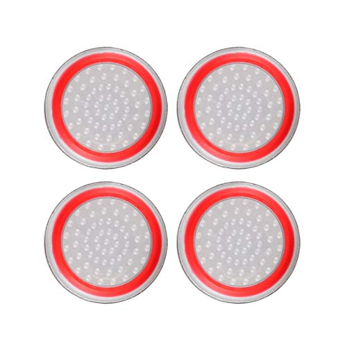 ENDFF Agarre del Pulgar Juego Accesorio Protect Cover Silicone Thumb Stick Grip...