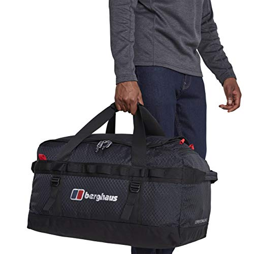 Berghaus Unisex's Expedition Mule Holdall, Carbon/Black, 60 Litre