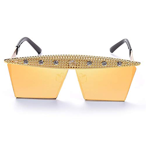 GAOYOO Gafas De Sol De Circón De Moda Diamantes De Imitación Cuadrados...