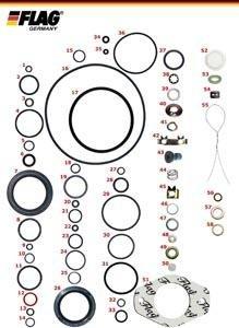 Reparatur-Kit für Pumpen DPC Lucas für Fahrzeuge mit Turbomotor.