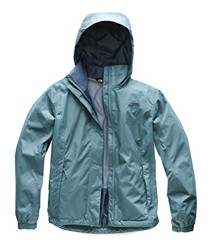The North Face Women's Resolve 2 Jacket, Storm Blue, Size L