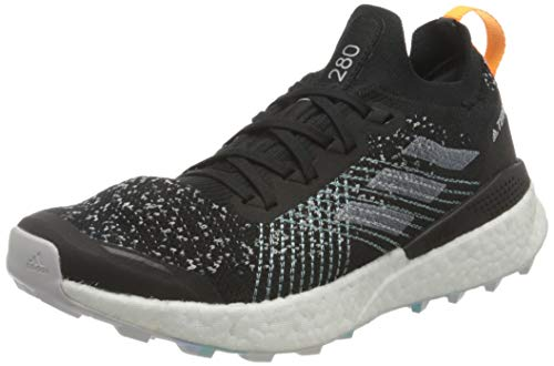 adidas Terrex Two Ultra Parley W, Zapatillas Deportivas Mujer, Core Black/Dash Grey/Blue Spirit, 39 1/3 EU