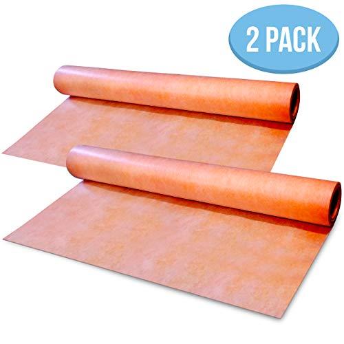 Buy Bargain [Pack of 2] Waterproof Membrane 3.3 ft x 33 ft / 108 Square Feet - 8mils Thick - Waterpr...