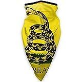 TURFED Bandera Americana Bandera de Gadsden Deportes al Aire Libre a Prueba de Viento Bufanda al Aire Libre Calentador de Cuello Bandana para Hombres Mujeres